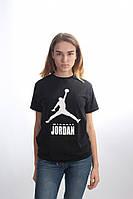 Брендовая унисекс футболка Jordan 21570 черная