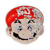 Держатель для телефона круглый (liquid shine) Марио