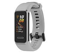 Силиконовый ремешок Primo для фитнес браслета Huawei Band 4 - Grey