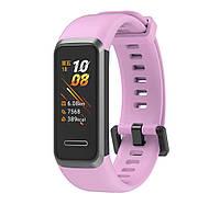 Силиконовый ремешок Primo для фитнес браслета Huawei Band 4 - Pink