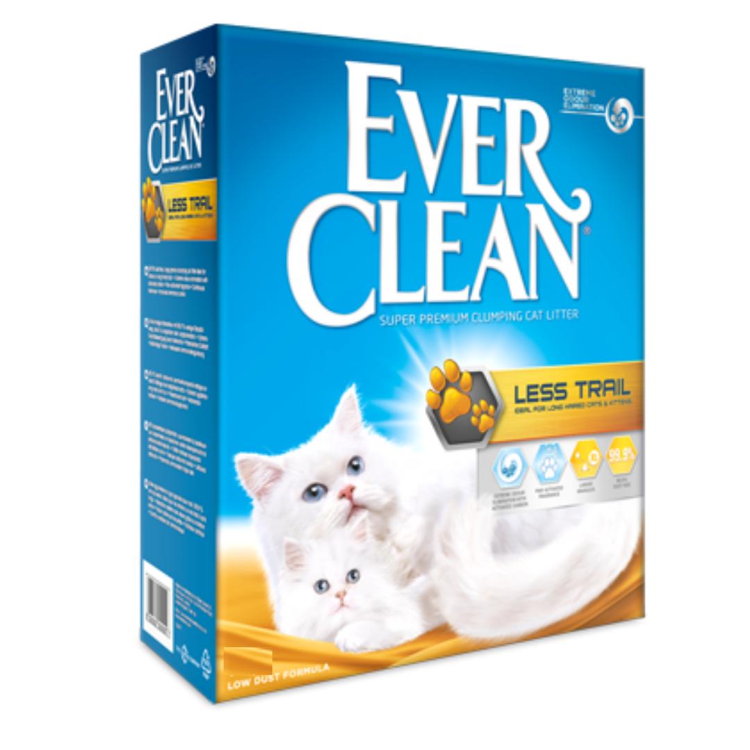 Бентонітовий наповнювач Ever Clean Litterfree Paws Евер Клін Чисті лапки 10 л