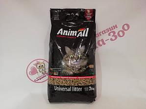 Наповнювач Animall Енімалл дерев'яний для котів 7,5 кг
