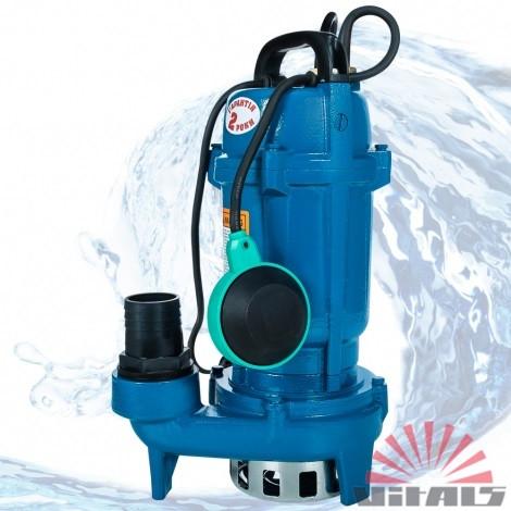 Насос Vitals aqua KC 1120f (1,1 кВт, 20 куб. м/час), погружной дренажно-фекальный