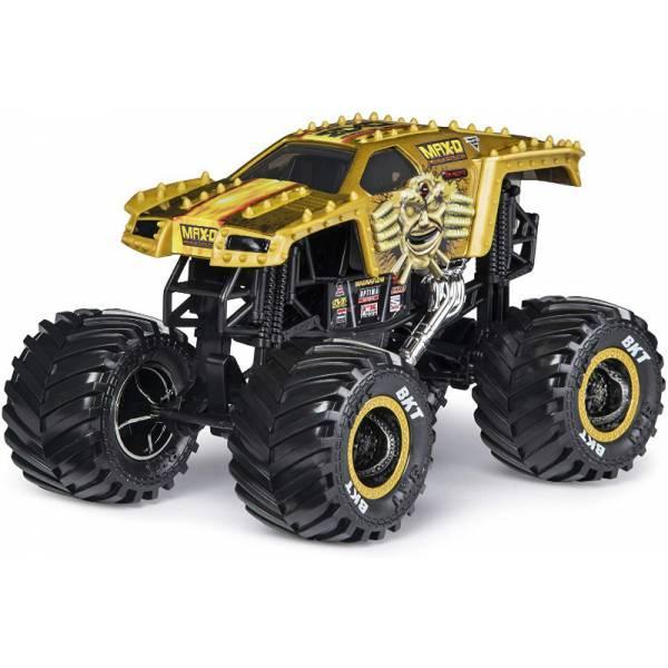 Hot Wheels Monster Jam Внедорожник джип Макс-Д 1:24 Scale 20108313 Max D Monster Truck Die-Cast Vehicle