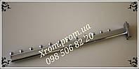 Флейта торговая (кронштейн в рейку пристенную) овальная