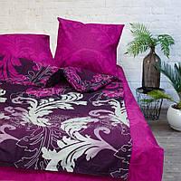 Постельное белье Viluta Ранфорс 9949 Семейный Малиново-фиолетовый 1005382, КОД: 1675581