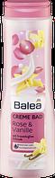 """Balea Creme Bad Rose & Vanille - Крем-пена для принятия ванн """"Роза и ваниль"""", 0,75 л"""