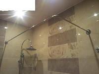 """Карниз на ванну Cersanit модель """"Flavia"""" (150х70 см) из нержавеющей стали"""