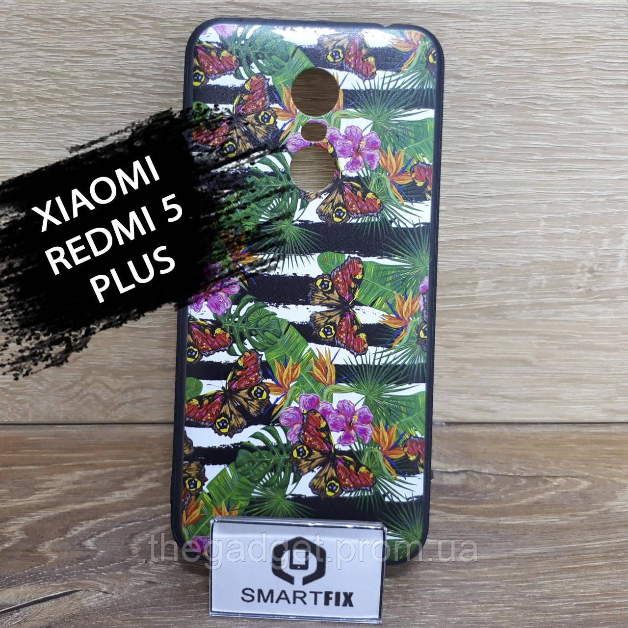 Чехол с рисунком для Xiaomi Redmi 5 Plus