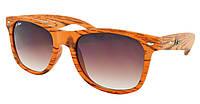 Стильные солнцезащитные очки Beach Force Wayfarer BF506K A261-477 + чехол (3_8342)