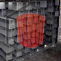 Графит в блоках