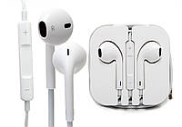 НАУШНИКИ для iPhone Apple EarPods+ПУЛЬТ+КОРОБКА!, Акция