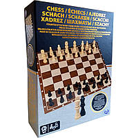 Spin Master Настольная игра 'Шахматы' (деревянные фигуры), SM98367/6033313