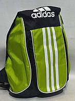 Рюкзак спортивный Адидас салатовый, фото 1