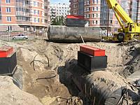 Пожарные резервуары горизонтальные стальные подземные
