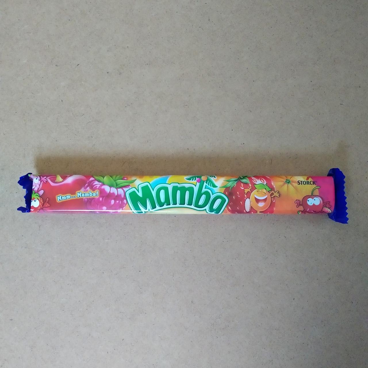 Жувальні цукерки MAMBA, 106г