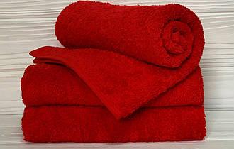 Кухонний рушник махровий в асортименті 40х70см (червоне)
