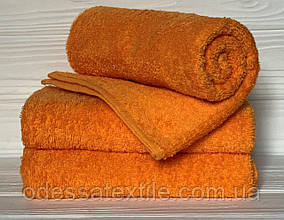 Кухонний рушник махровий в асортименті 40х70см (помаранчева)