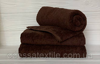 Кухонний рушник махровий в асортименті 40х70см (шоколад)