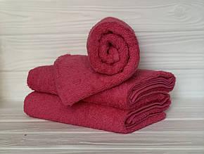 Кухонний рушник махровий в асортименті 40х70см (рожеве)