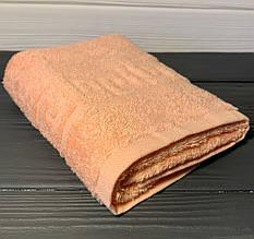 Кухонний рушник махровий в асортименті 40х70см (персик)