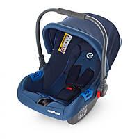 Автомобильное кресло ME 1009-2, автокресло-переноска, бебикокон для новорожденных от 0 до 15 мес, синий