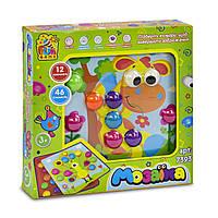 Развивающая детская мозаика с картонными трафаретами Fun Game арт. 7393