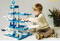 Парковка (гараж) Wader 4 уровневая с машинками в комплекте