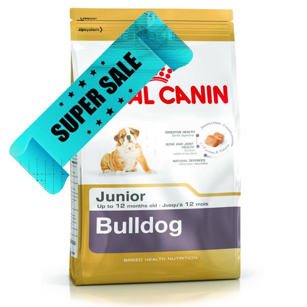 Сухой корм для собак Royal Canin Bulldog Junior 3 кг