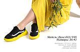 Жіноче взуття на жовтій підошві, фото 3