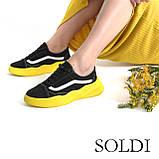 Жіноче взуття на жовтій підошві, фото 5