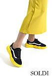 Жіноче взуття на жовтій підошві, фото 4