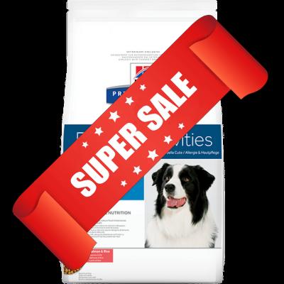 Лечебный сухой корм для собак Hill's Prescription Diet Canine Food Sensitivities d/d Salmon & Rice 12 кг