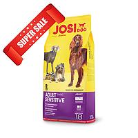 Сухой корм для собак JosiDog Adult Sensitive 18 кг