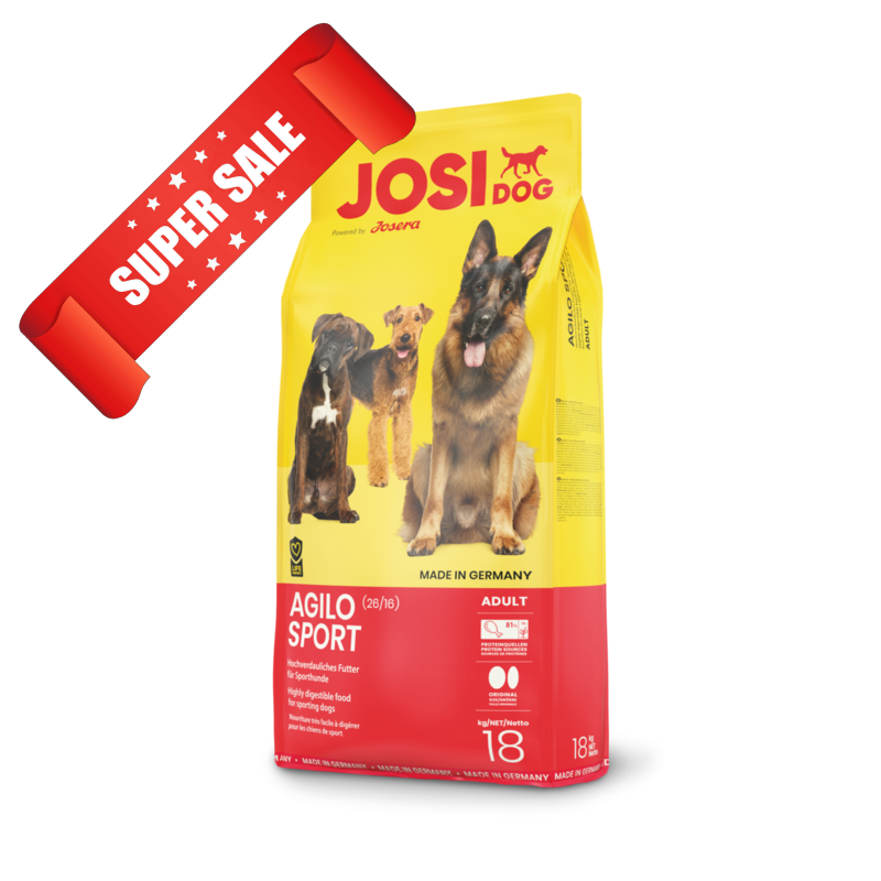 Сухой корм для собак JosiDog Agilo Sport 18 кг