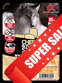 Лакомство для собак Alpha Spirit Sticks Cheese & Yogurt 40 г х 4 шт