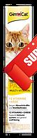 Паста для кошек GimCat Duo Paste Multi Vitamin 12 Vitamins + Cheese 50 г