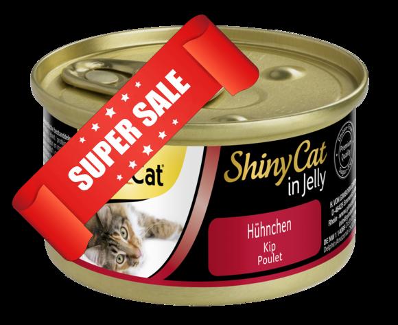 Влажный корм для котов GimCat ShinyCat in Jelly с курицей 70 г