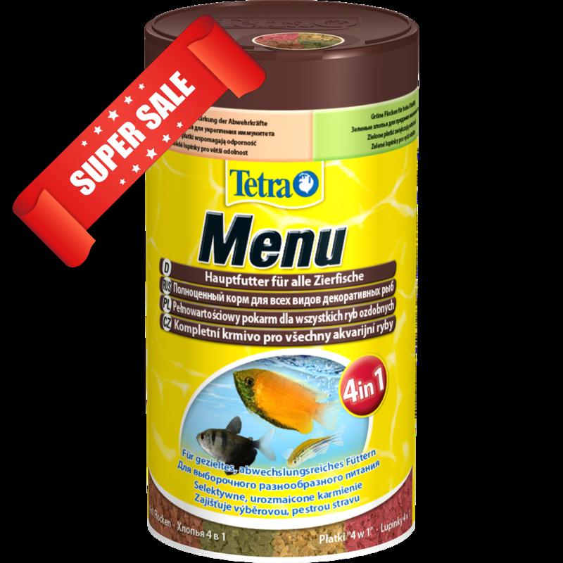 Корм для рыбок Tetra Menu 100 мл