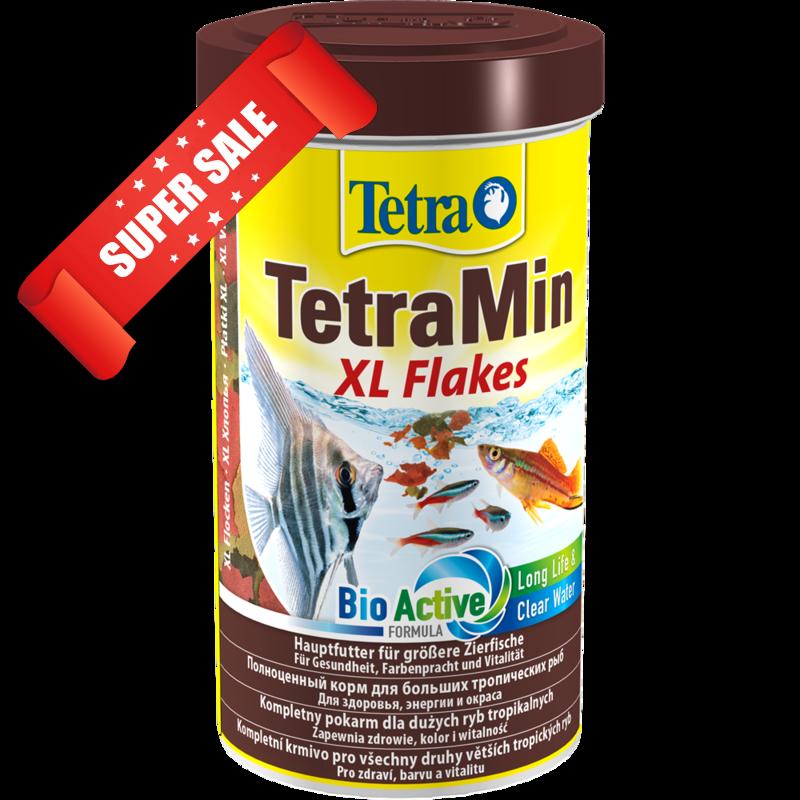 Корм для рыбок Tetra TetraMin XL Flakes 500 мл