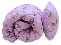 ТМ TAG Одеяло лебяжий пух Girls 1.5-сп. + 1 подушка 40х60, фото 1