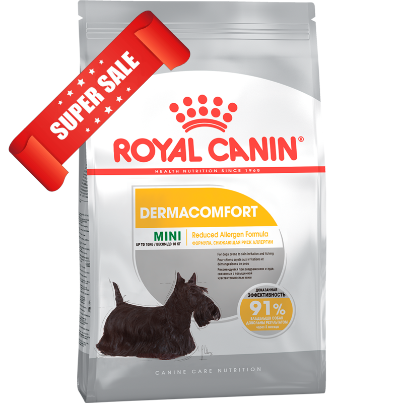Сухой корм для собак Royal Canin Mini Dermacomfort 3 кг