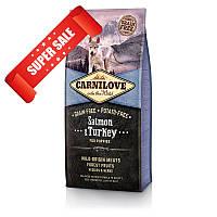 Сухой корм для щенков Carnilove Puppy Salmon & Turkey 1,5 кг