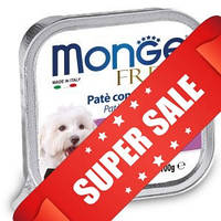 Влажный корм для собак Monge Fresh Lamb 100 г