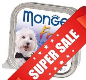Влажный корм для собак Monge Fruit Turkey & Blueberry 100 г