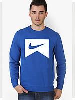 Свитшот мужской спортивный синий Nike Найк