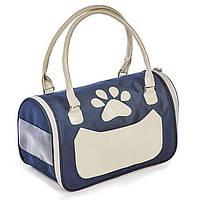 Сумка-переноска Pet Fashion «Вега» 38 x 22 x 22 см (синяя) - dgs