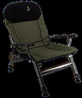 Кресло карповое для рыбалки Elektrostatyk FK5 усиленное с подлокотниками, модель 2021