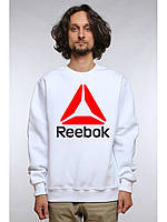 Свитшот мужской спортивный белый Reebok Рибок