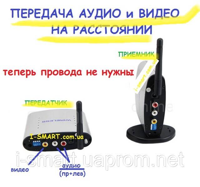 Передача видео и аудио на расстоянии (без проводов) IS-1